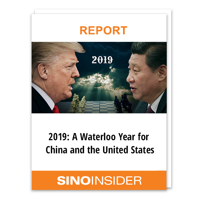 2019 A Waterloo Year for China and the United States