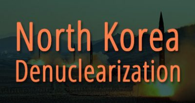 North Korea Denuclearization banner